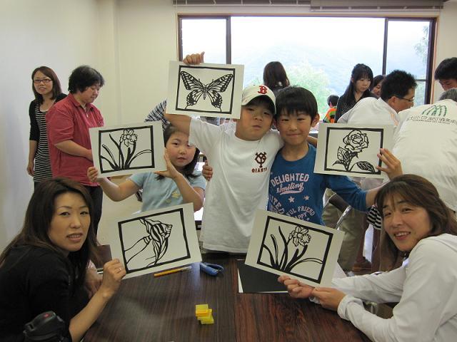 切り絵体験教室