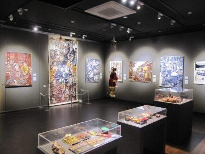坂部信子の切り絵展第4展示室