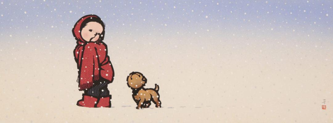 関口コオ「雪」