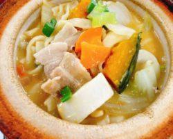 冬季限定「下部味噌のほうとう鍋」はじめました!