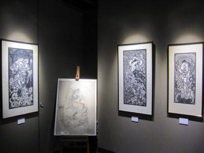 企画展「倪瑞良の切り絵」
